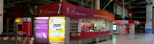 tourist information office in Airport